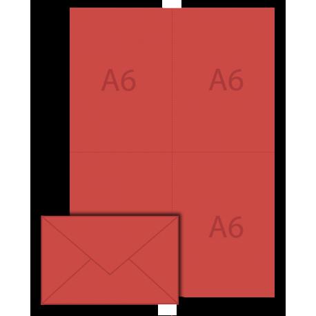 Pack de vote vierge 90x140 A6