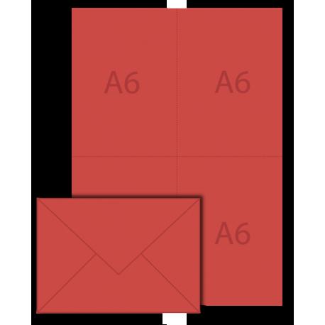 Pack de vote vierge 114x162 A6