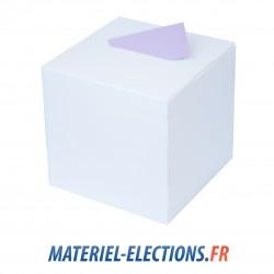 Urne de vote blanc laqué 400 v.