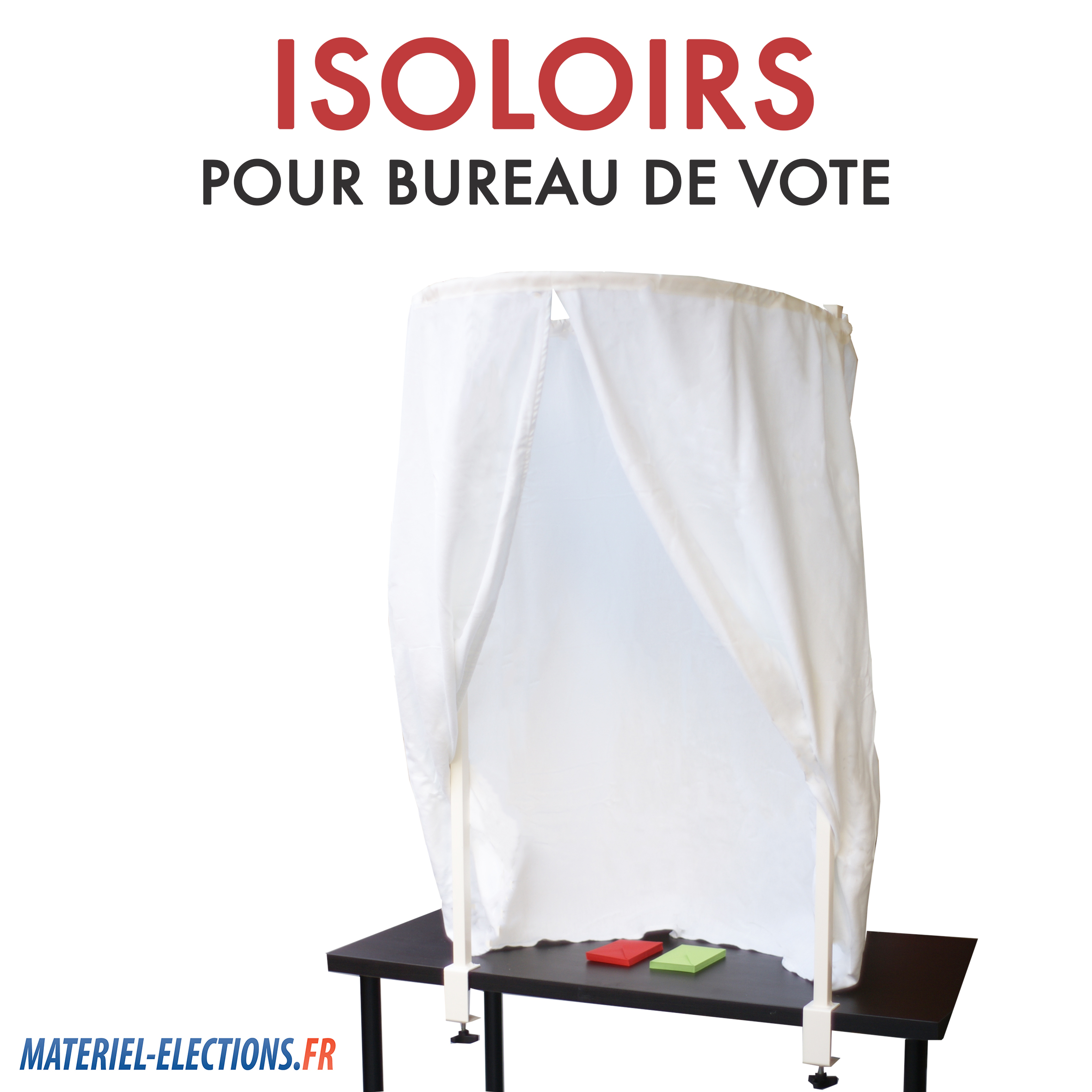 Isoloir de vote