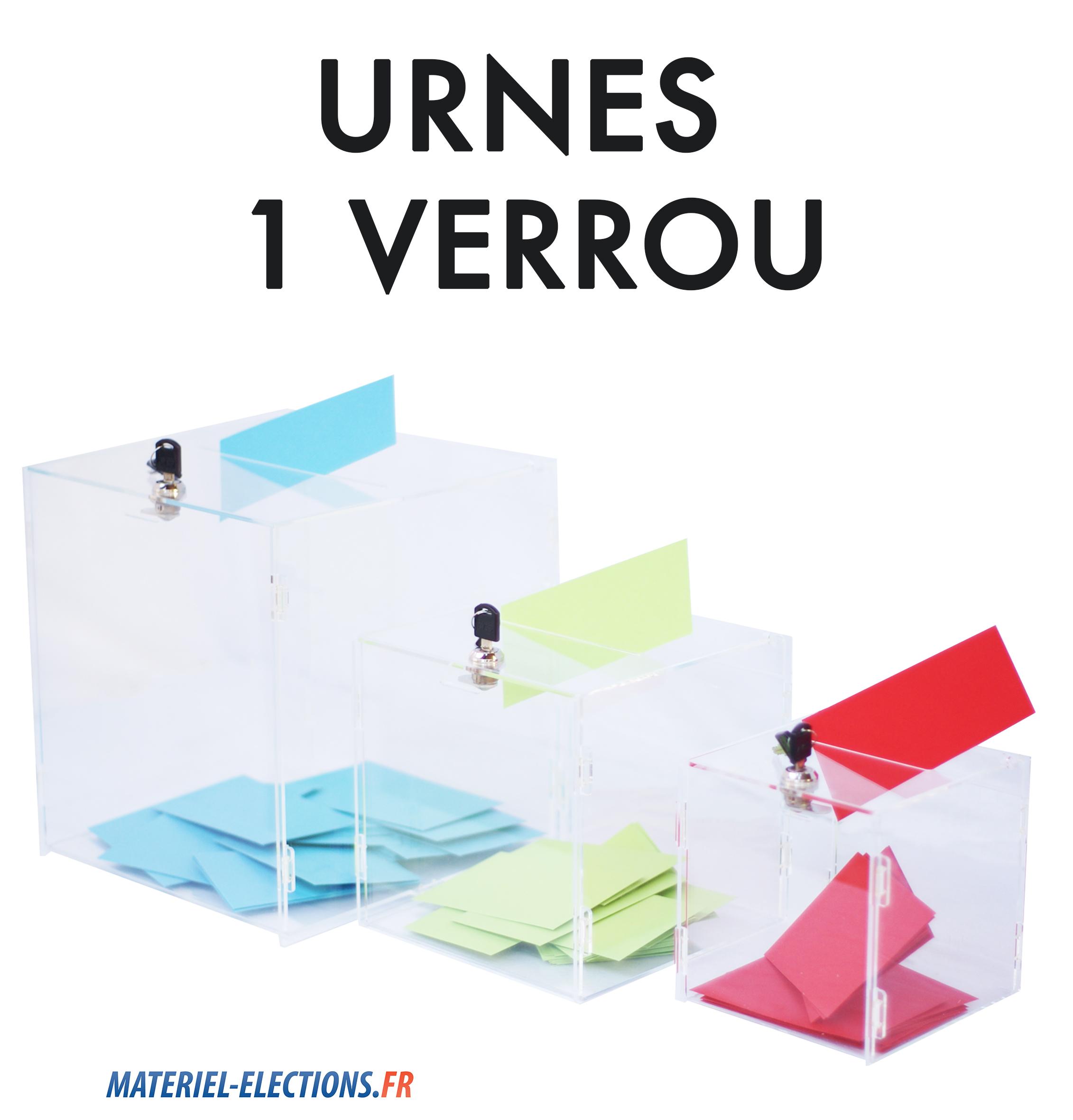 urnes élections 1 verrou